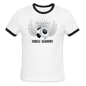 Play with Passion Schulz Academy - Men's Ringer T-Shirt