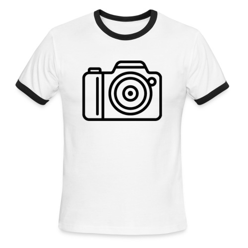 Camera - Men's Ringer T-Shirt