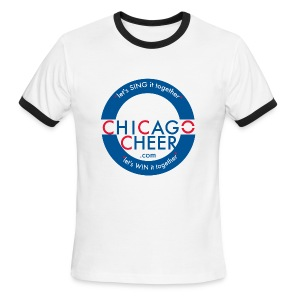 ChicagoCheer.Com - Men's Ringer T-Shirt