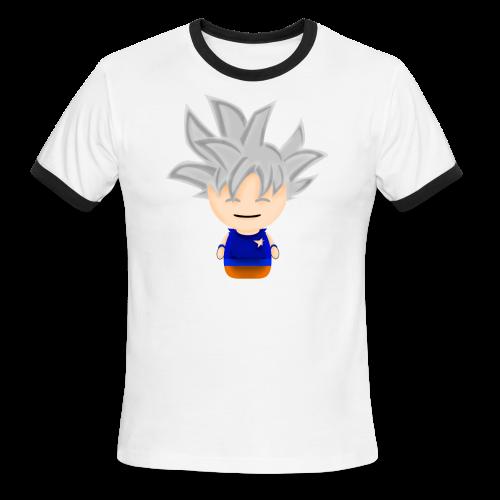 Borbz Ultra Instinct Goku - Men's Ringer T-Shirt