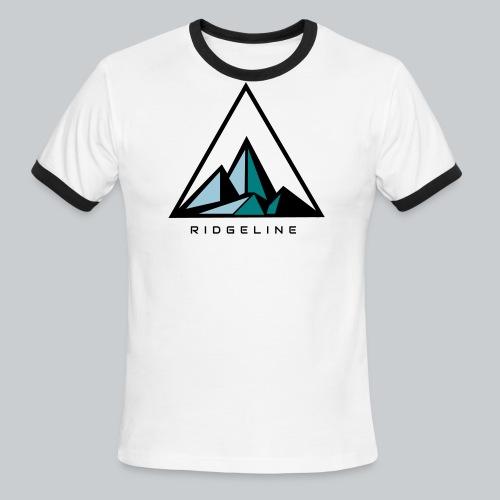 ridgeline aqua - Men's Ringer T-Shirt