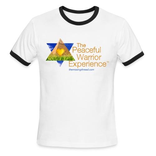 The Peaceful WarriorExperience t-shirt 2 - Men's Ringer T-Shirt