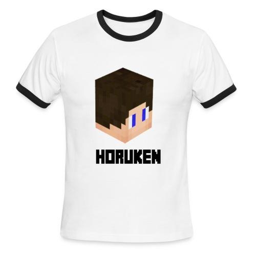 yellow horuken logo design - Men's Ringer T-Shirt