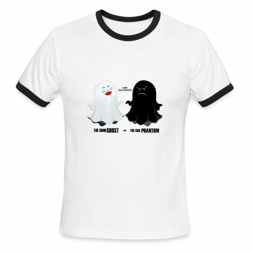 THE GOOD GHOST AND THE BAD PHANTOM - Men's Ringer T-Shirt