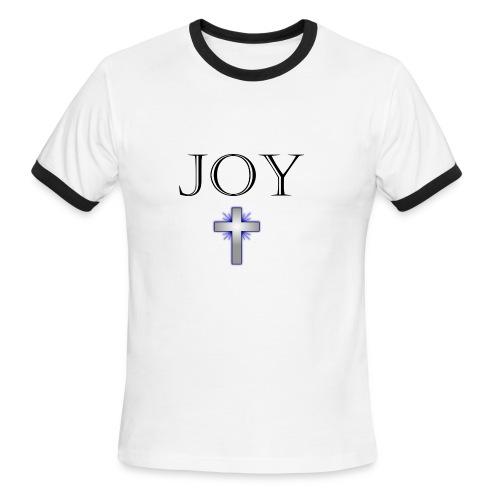 JOY KING - SHIRT - Men's Ringer T-Shirt