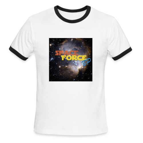 Space Force BP Mach Up 2 - Men's Ringer T-Shirt