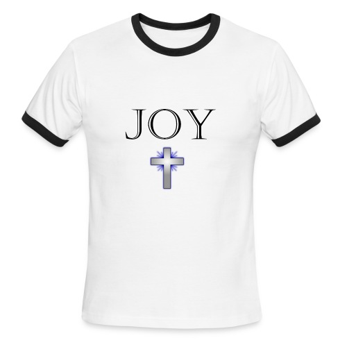 JOY KING - SHIRT - Men's Ringer T-Shirt