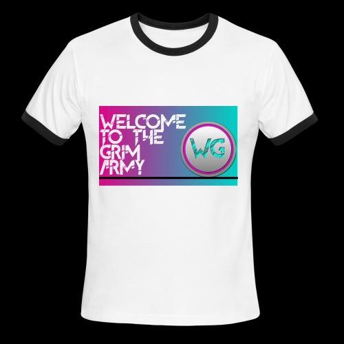 Channal Art Shirt - Men's Ringer T-Shirt