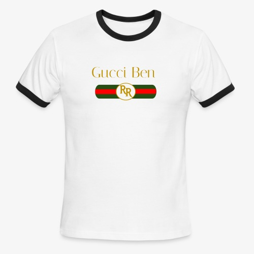 Gucci Ben - Men's Ringer T-Shirt
