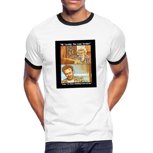 Smoking Crack All Day - Men's Ringer T-Shirt