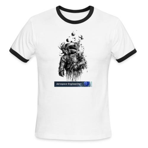 Astronaut Art - Men's Ringer T-Shirt