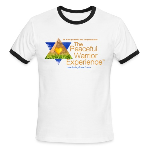 The Peaceful Warrior Experience t-shirt 1 - Men's Ringer T-Shirt