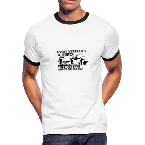 ARMY T - Men's Ringer T-Shirt
