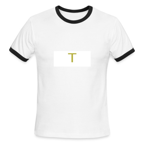 ''Small T'' Taylor Shorty Initial - Men's Ringer T-Shirt