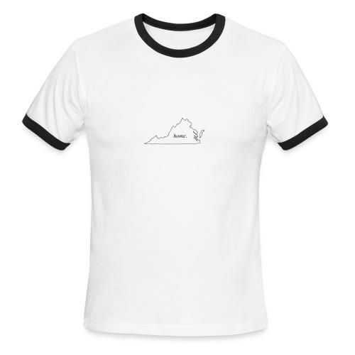 Home - Virginia. - Men's Ringer T-Shirt