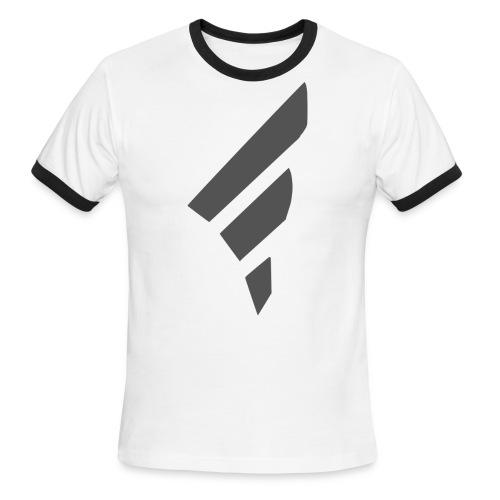 FarggedOutt Black Logo T-Shirt - Men's Ringer T-Shirt