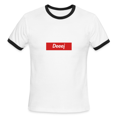 DEEEJ-PREME T SHIRT - Men's Ringer T-Shirt