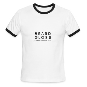Beard_Gloss_Logo_-_final - Men's Ringer T-Shirt