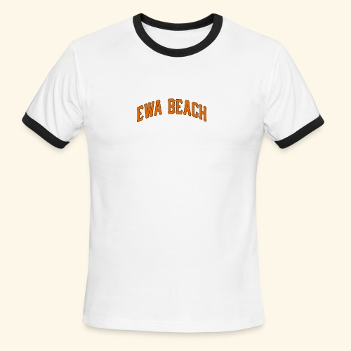 EWA BEACH Mens T - Men's Ringer T-Shirt