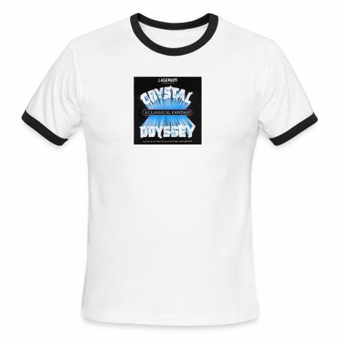 Laserium Crystal Osyssey - Men's Ringer T-Shirt