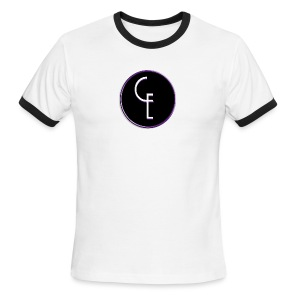 CE Logo - Men's Ringer T-Shirt