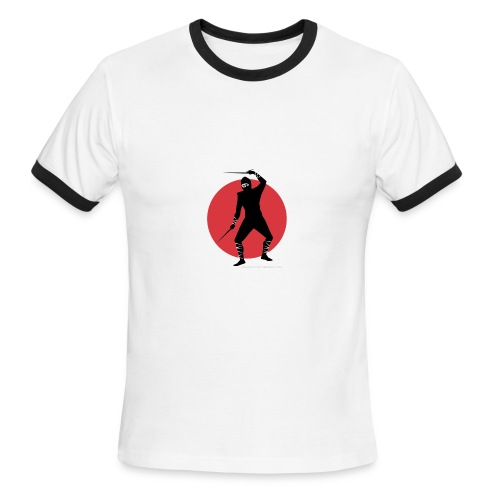 Ninja Assassin - Men's Ringer T-Shirt
