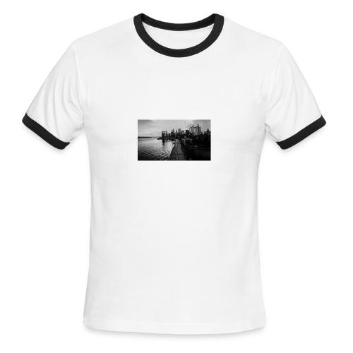 Manhattan Bridge Walkway T-shirt - Men's Ringer T-Shirt