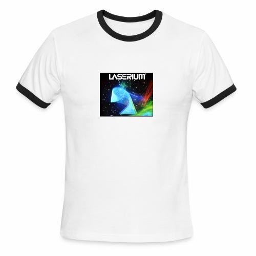 LASERIUM Laser spiral - Men's Ringer T-Shirt