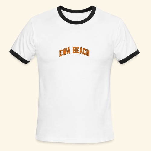 EWA BEACH Mens T - Men's Ringer T-Shirt