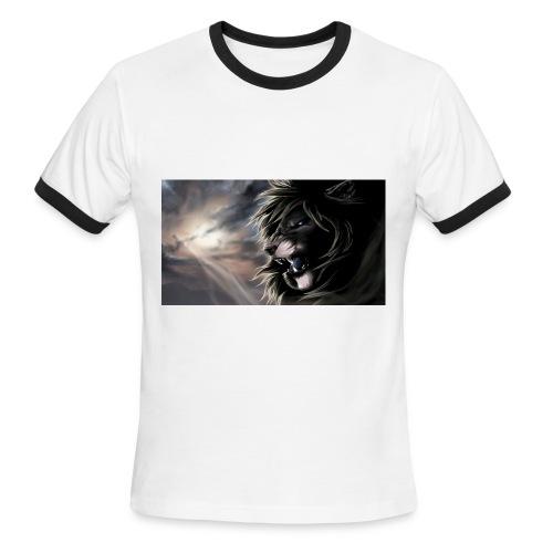3D Lion tshirt - Men's Ringer T-Shirt