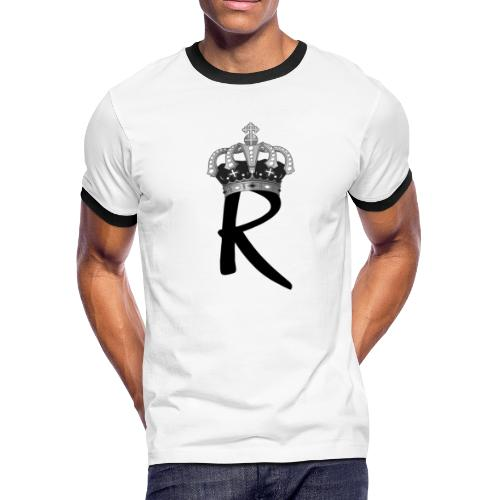 R with Crown - Men's Ringer T-Shirt