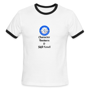 SB Seal Design - Men's Ringer T-Shirt