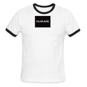 YoloPlayer Merch - Men's Ringer T-Shirt