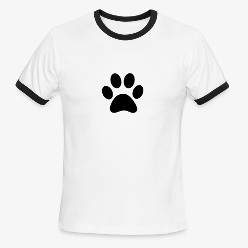 Paw print - Men's Ringer T-Shirt