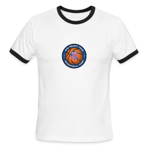 High Resolution PNG Transparent Logo medium 2 - Men's Ringer T-Shirt