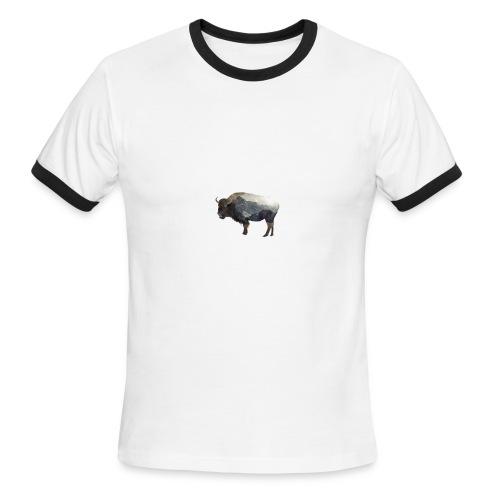 Buffalo Design - Men's Ringer T-Shirt