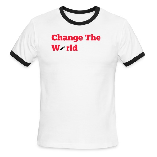 Change The World Falcon Shirt - Men's Ringer T-Shirt