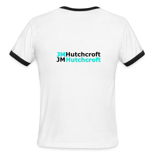 Back Printed JM Hutchcroft - Men's Ringer T-Shirt