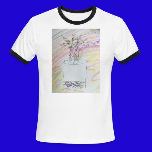 Lazy Artwork - Men's Ringer T-Shirt