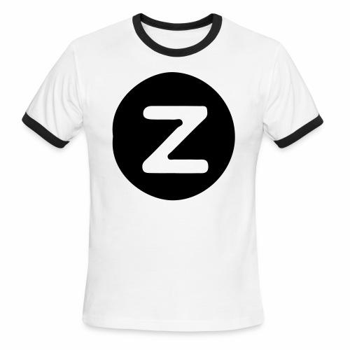 z logo - Men's Ringer T-Shirt