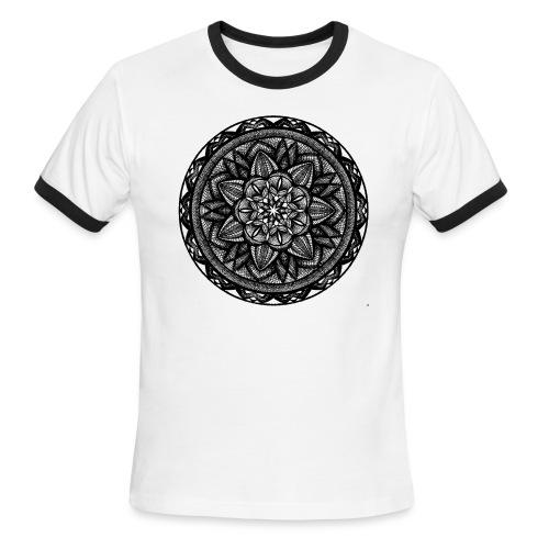 Circle No.2 - Men's Ringer T-Shirt
