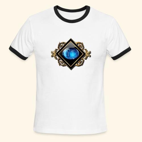 yannick logo - Men's Ringer T-Shirt