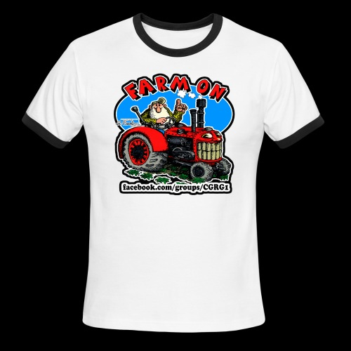Mr Natural Farm On - Men's Ringer T-Shirt
