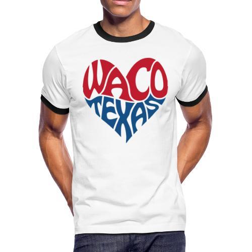 Heart of Waco Texas - Men's Ringer T-Shirt
