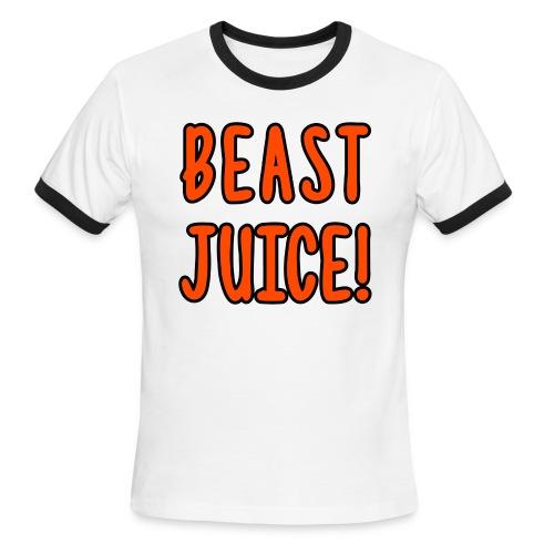 BEAST JUICE! - Men's Ringer T-Shirt