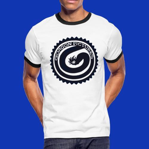 Gorgon logo Black - Men's Ringer T-Shirt