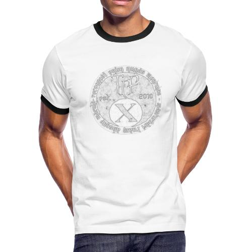 TCF 10th Anniversary (Grey) - Men's Ringer T-Shirt
