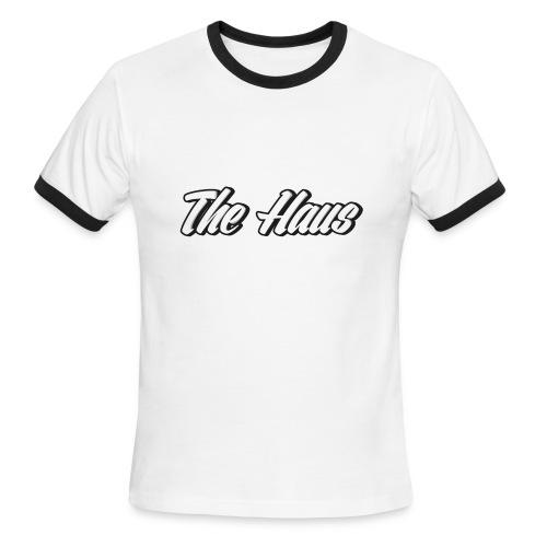 The Haus Logo - Men's Ringer T-Shirt