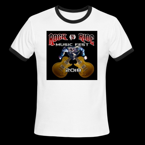 RocknRide Design - Men's Ringer T-Shirt