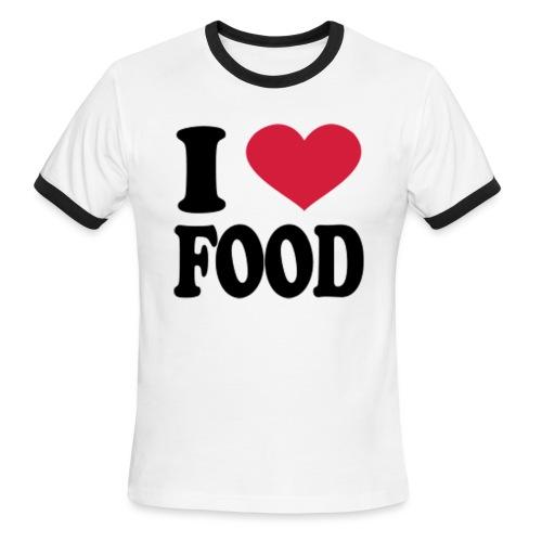 i love food - Men's Ringer T-Shirt
